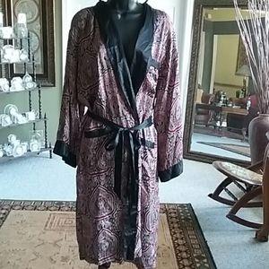 Playboy 100% Silk Robe